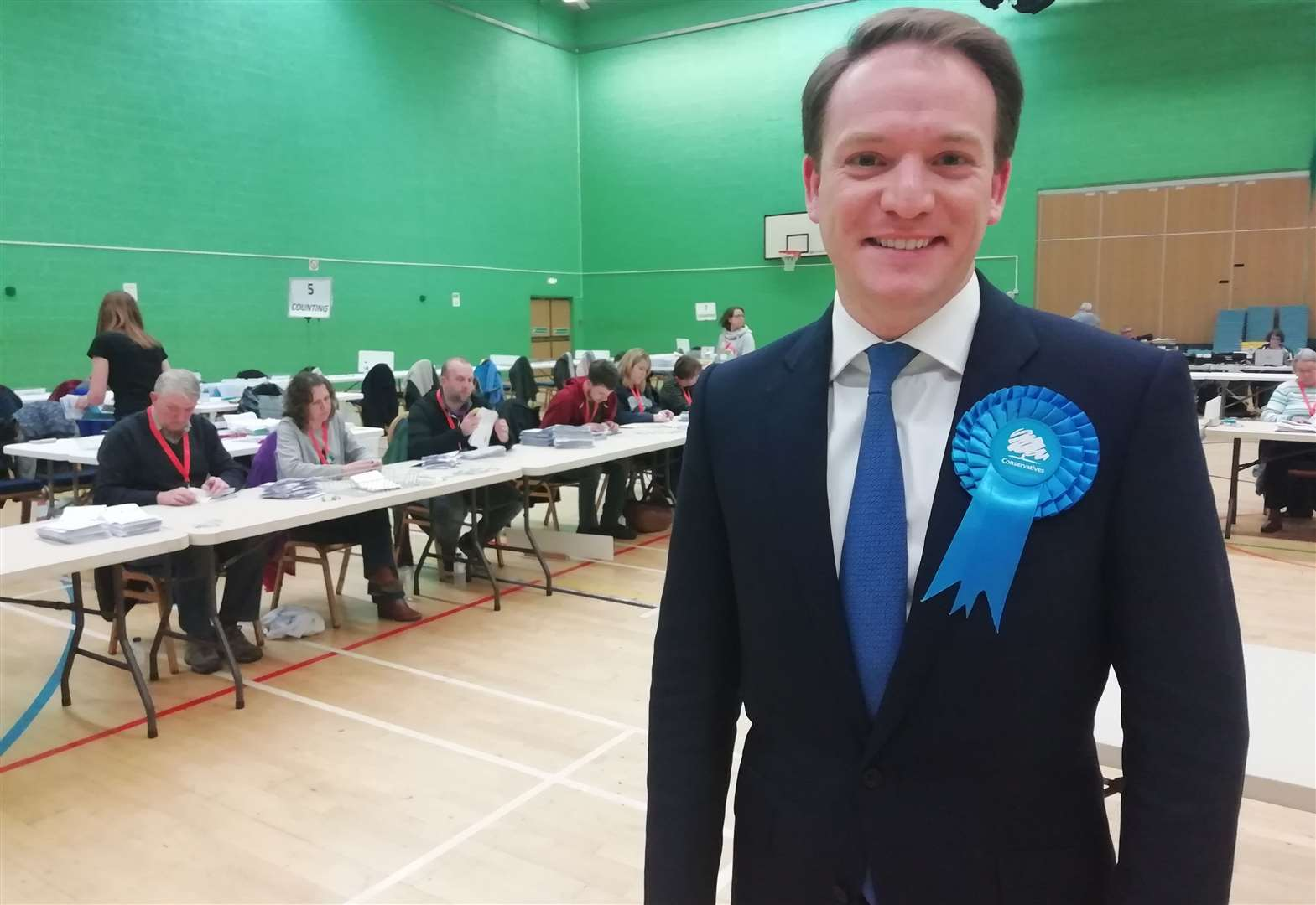 General Election 2019: New MP for Grantham and Stamford