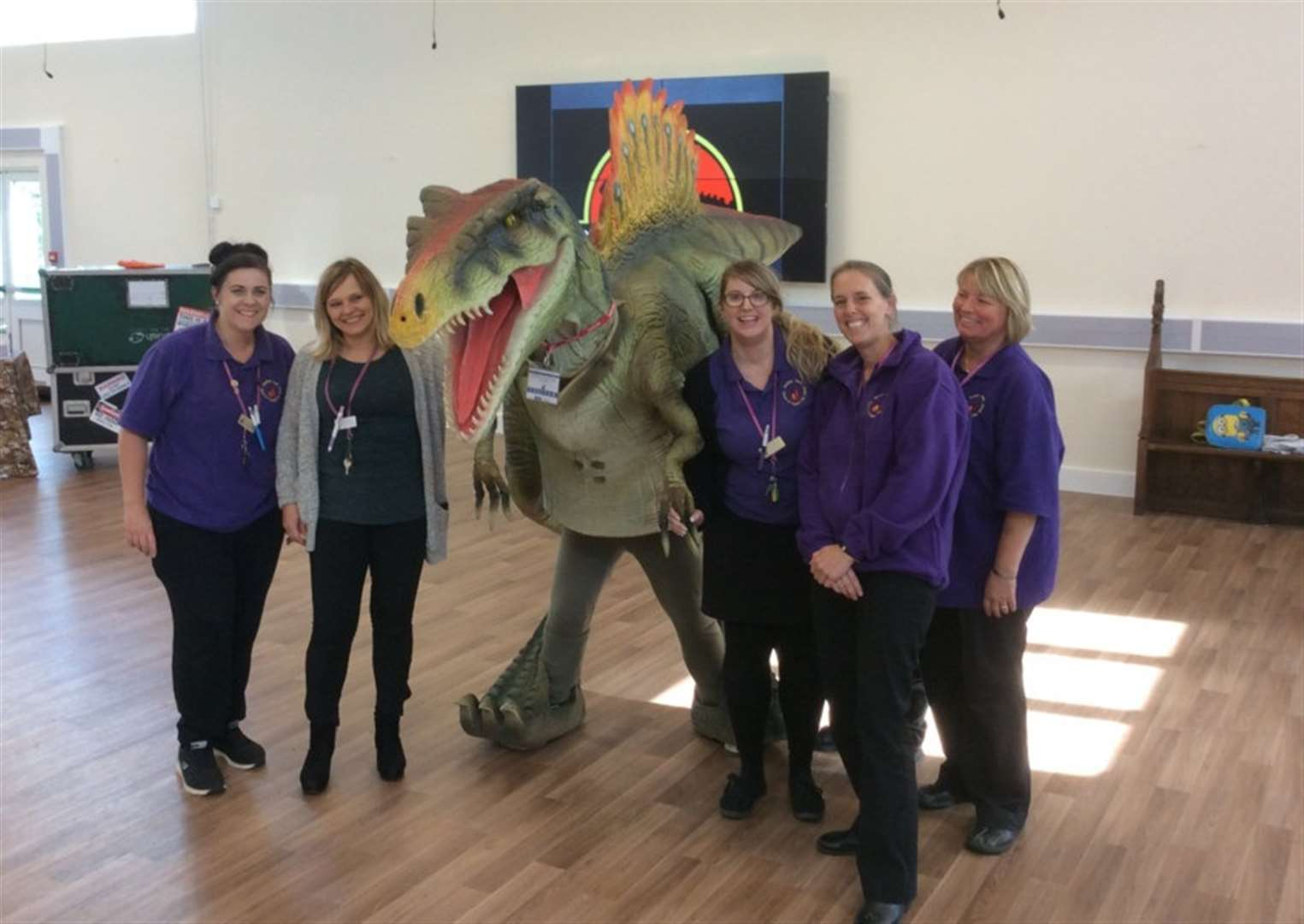 Dino delight for pupils (and teachers!)