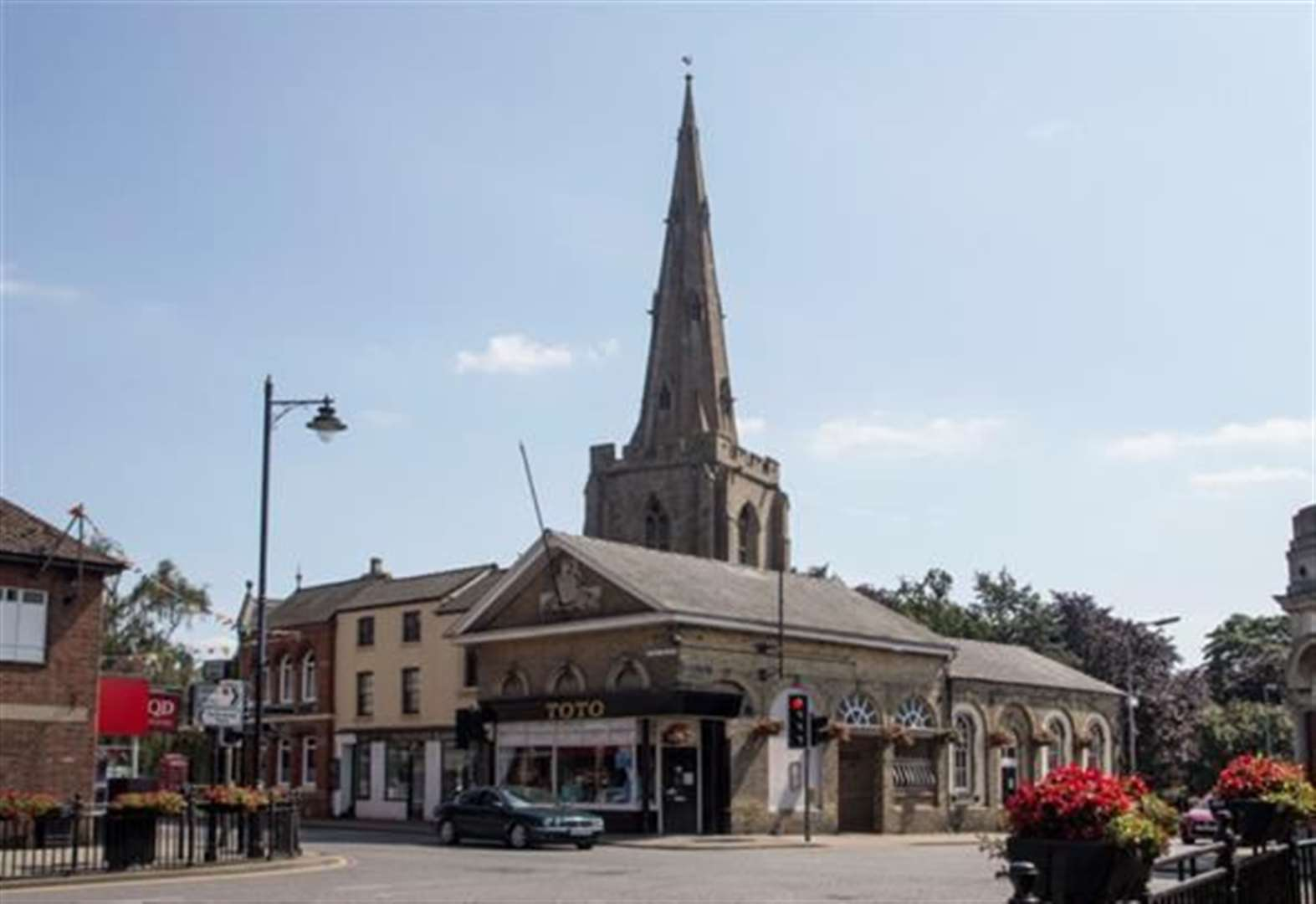 Work begins to regenerate town centres
