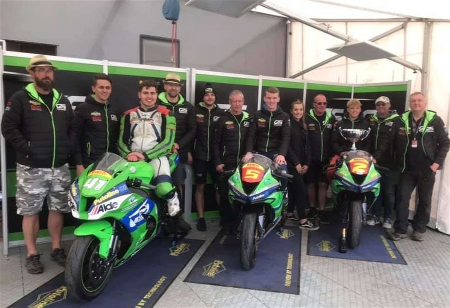 MOTORCYCLING: Trio sign up with G&S Kawasaki for 2020 season