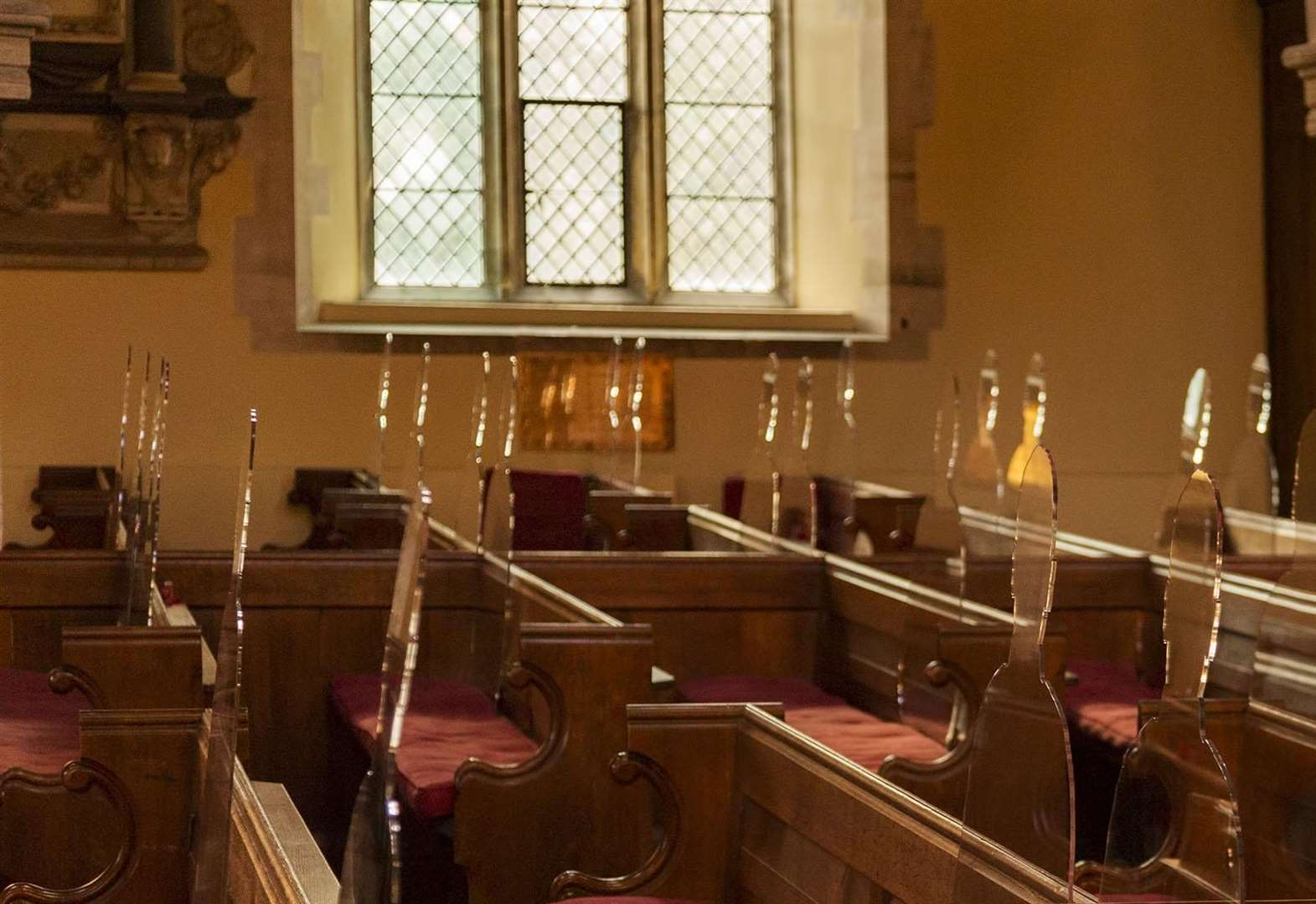 Spalding Parish Church will have Tommy silhouettes in the pews during November