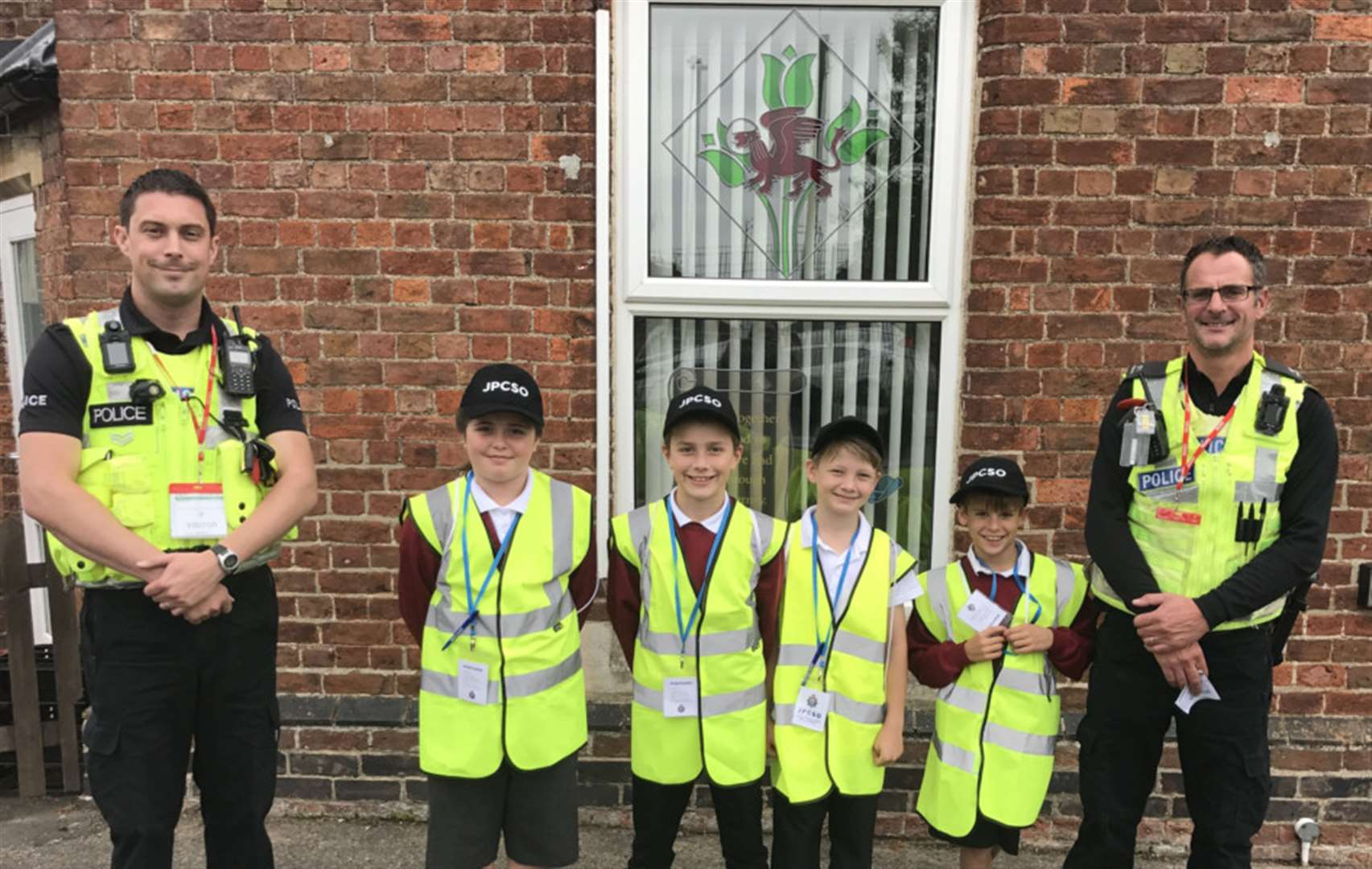 Holbeach St Marks youngsters deliver talk about county police
