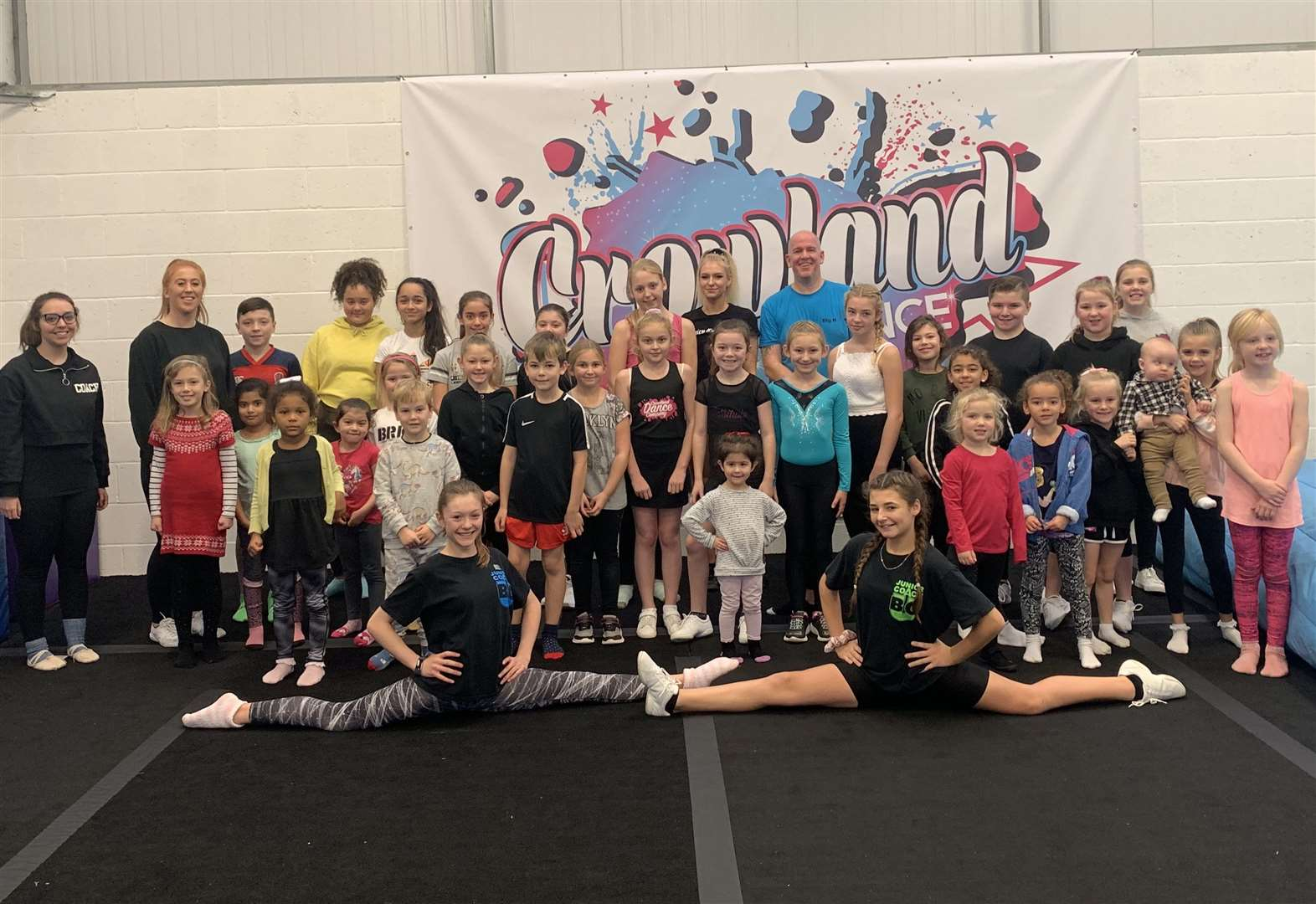 Youngsters 'step up' at new dance studio
