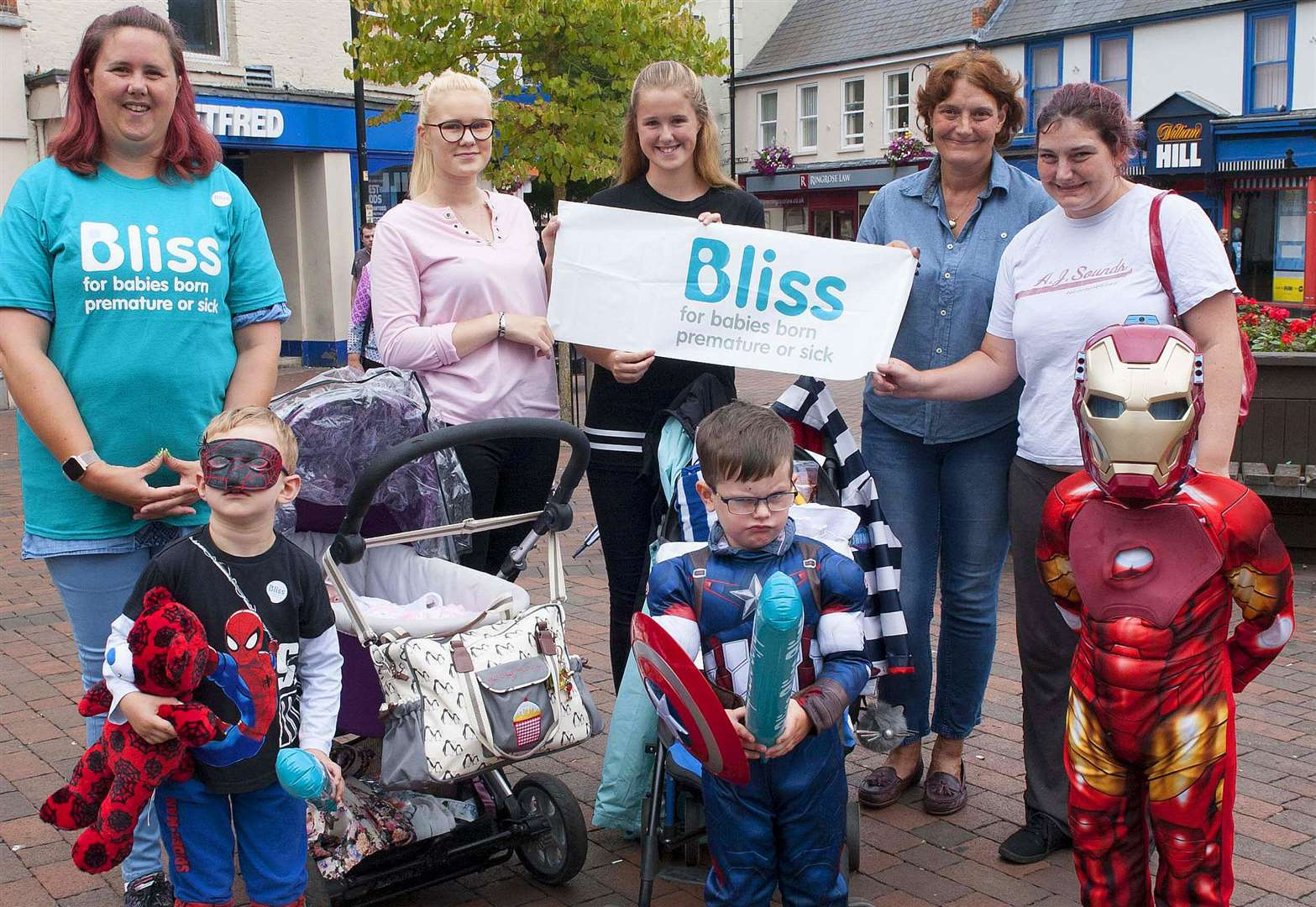 Spalding mums put best feet forward for children's charity