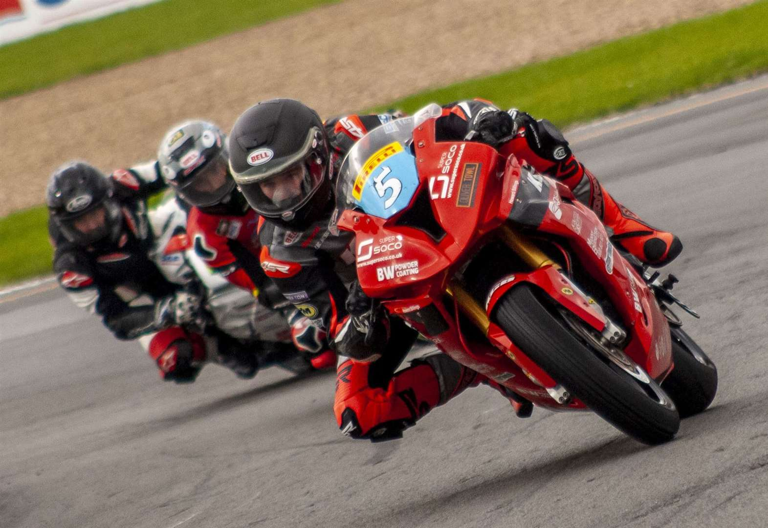 MOTORCYCLING: Sweet 16 for Aaron at Donington Park