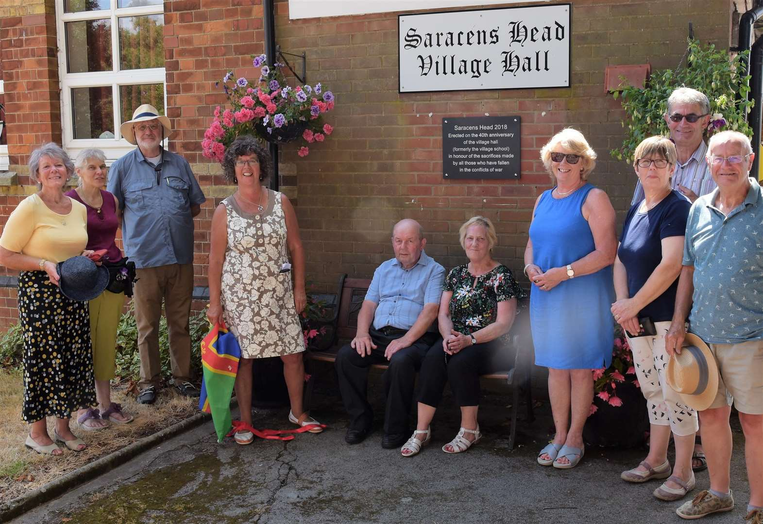 Ruby anniversary for Saracen's Head Village Hall
