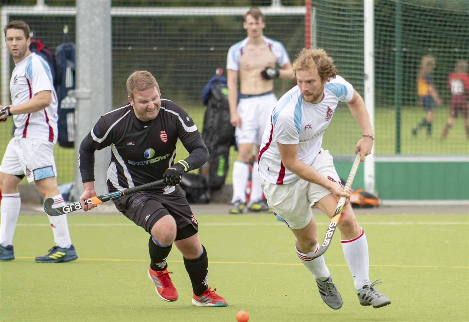 HOCKEY: Cunnington's treble rescues a point