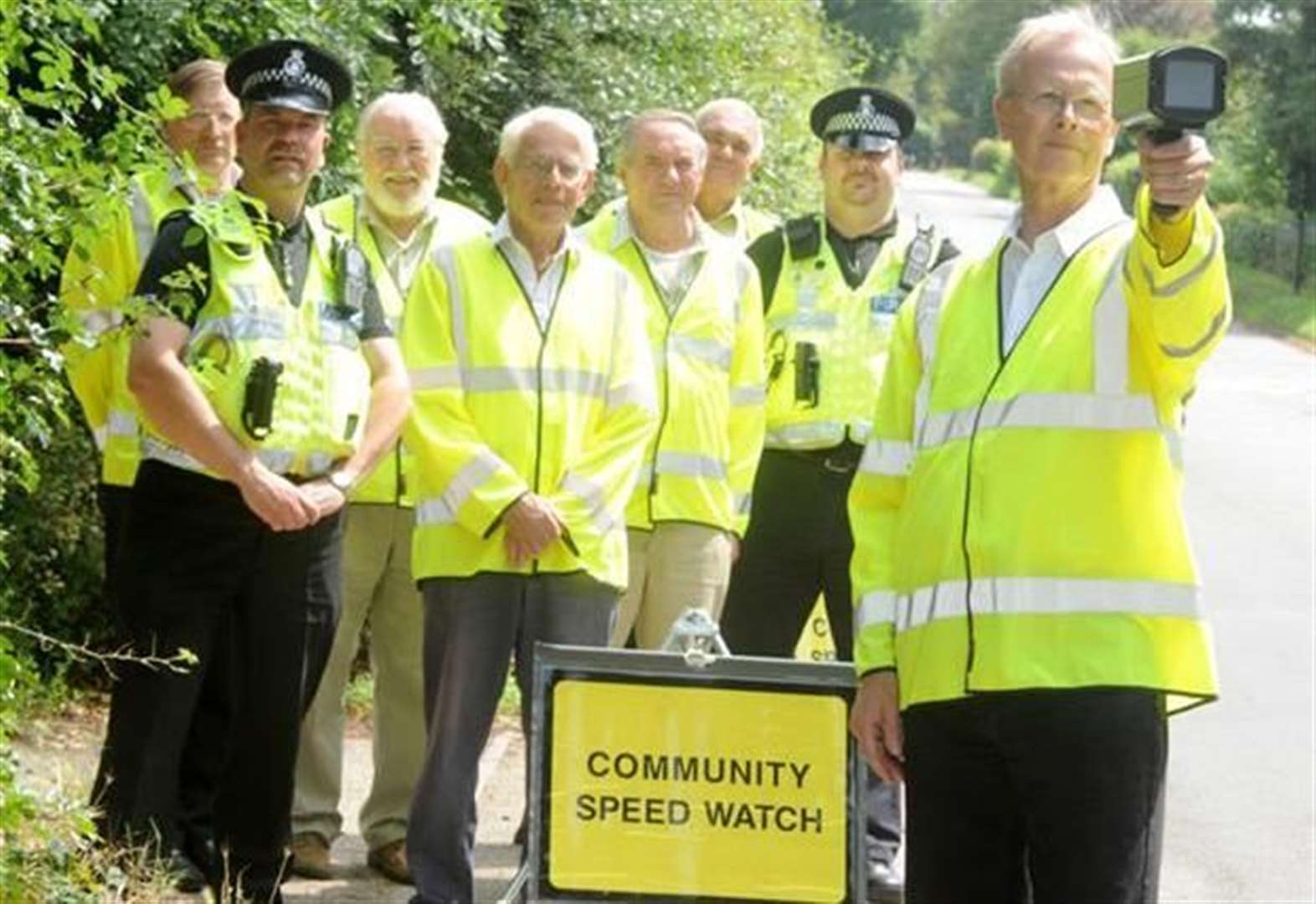 Speed Watch schemes are a 'godsend' for road safety