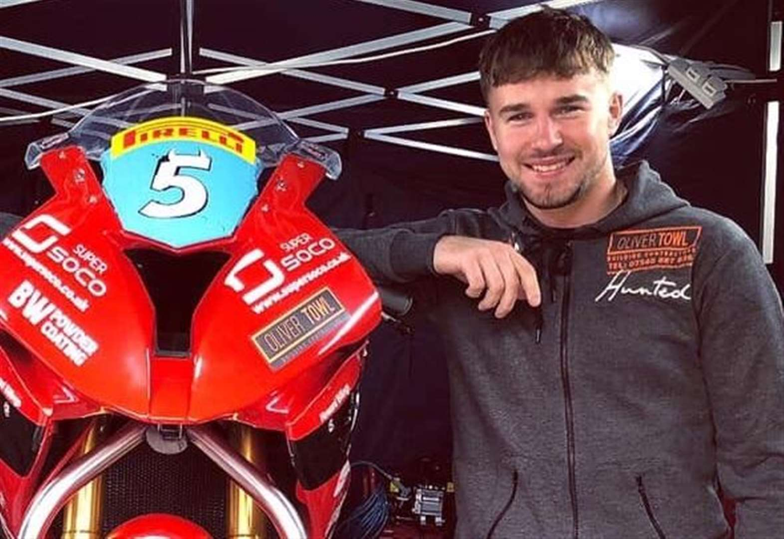 MOTORSPORT: Clarke stays positive as season reaches climax