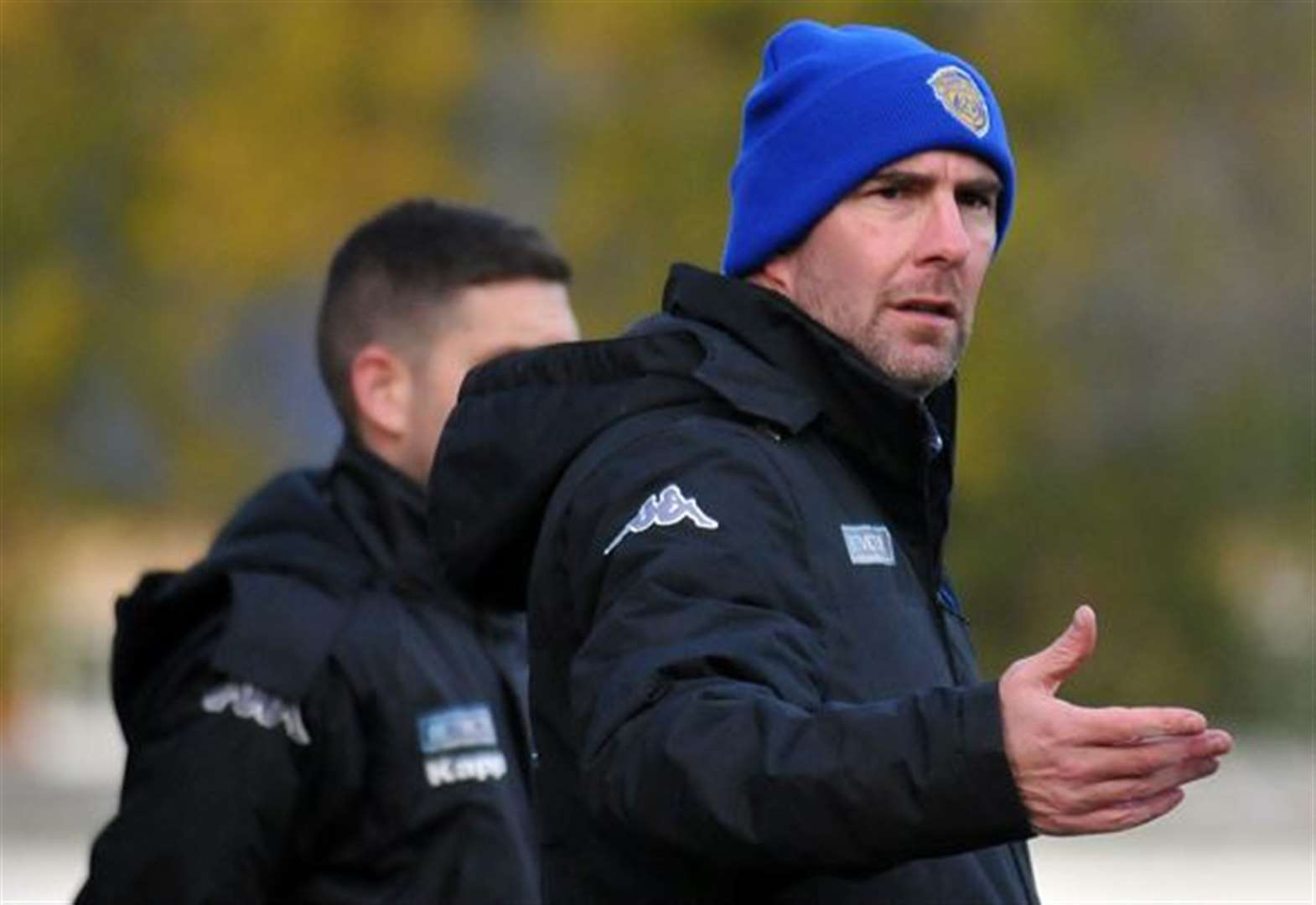 FOOTBALL: Boss happy with result and performance