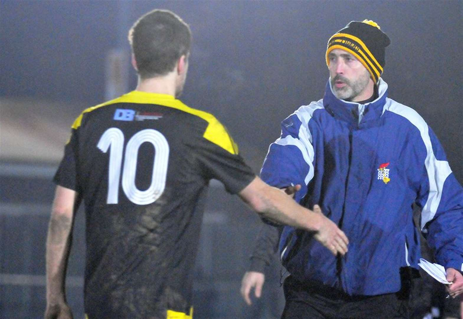 FOOTBALL: Hussey unhappy with display