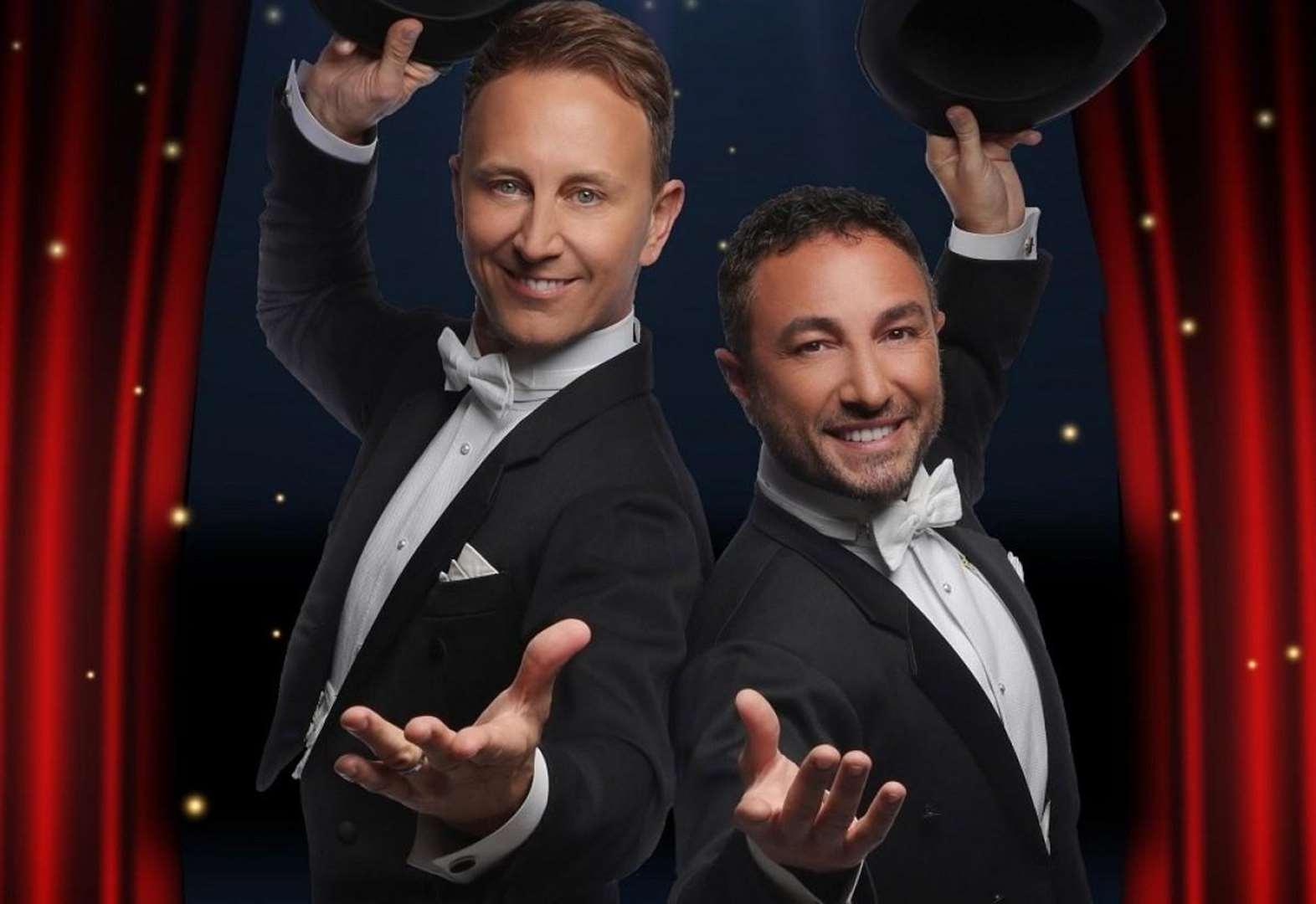 Strictly stars Ian and Vincent are spinning into Spalding!