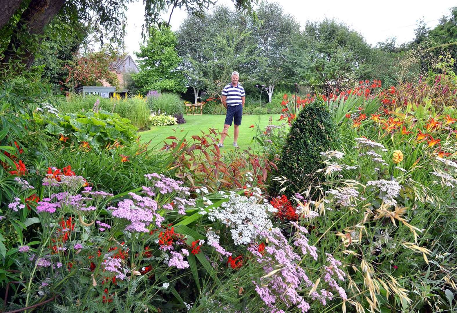 Gardens that made it into the final of Gardeners' World competition open this Sunday
