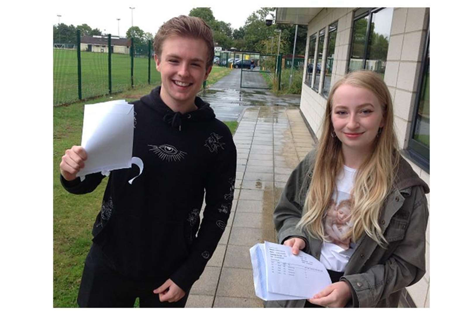 A LEVEL RESULTS DAY: Impressive results at Deepings School