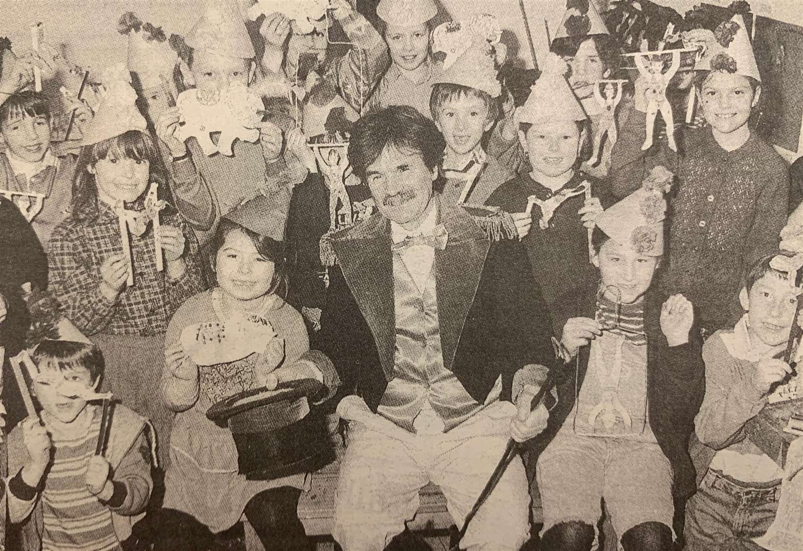 LOOKING BACK: Lots of arty circus fun for children