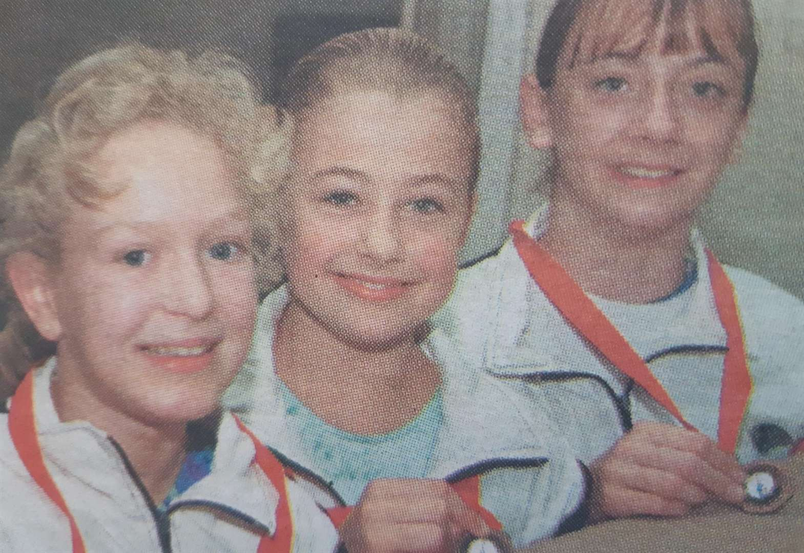 NOSTALGIA: Bronze for gym girls in 2000