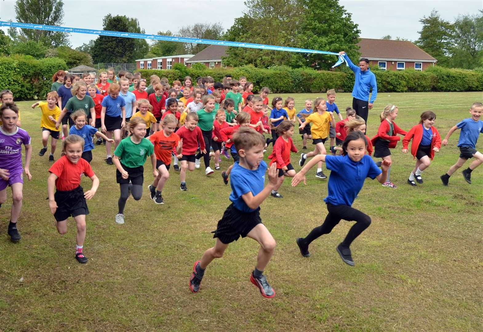 PHOTO GALLERY: Sutton St James Primary School takes on Race for Life