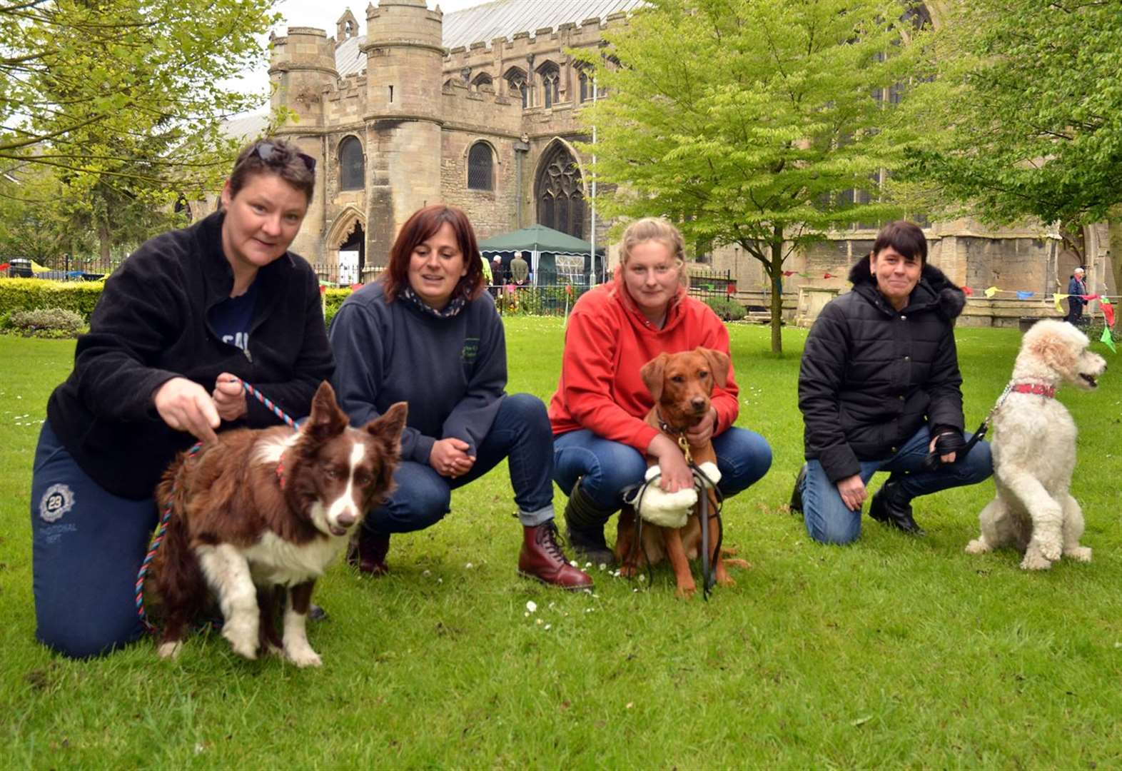 PICTURE SPECIAL: Dogs on show at All Saints Church Holbeach