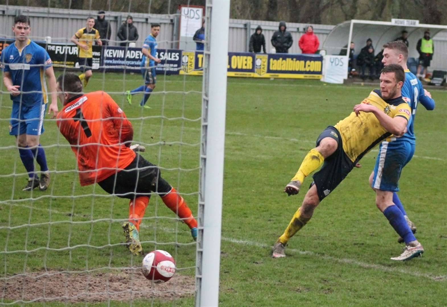 FOOTBALL: Away defeat for Tulips