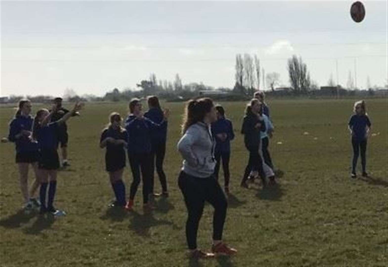 RUGBY UNION: Great turnout for girls development day