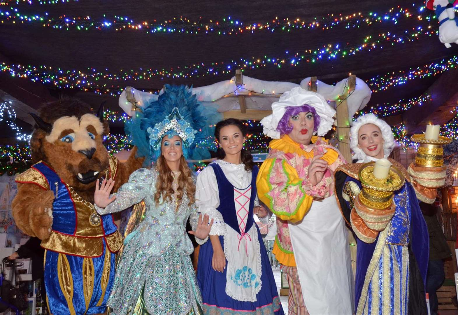 PANTO REVIEW: Beauty and the Beast at Baytree Theatre