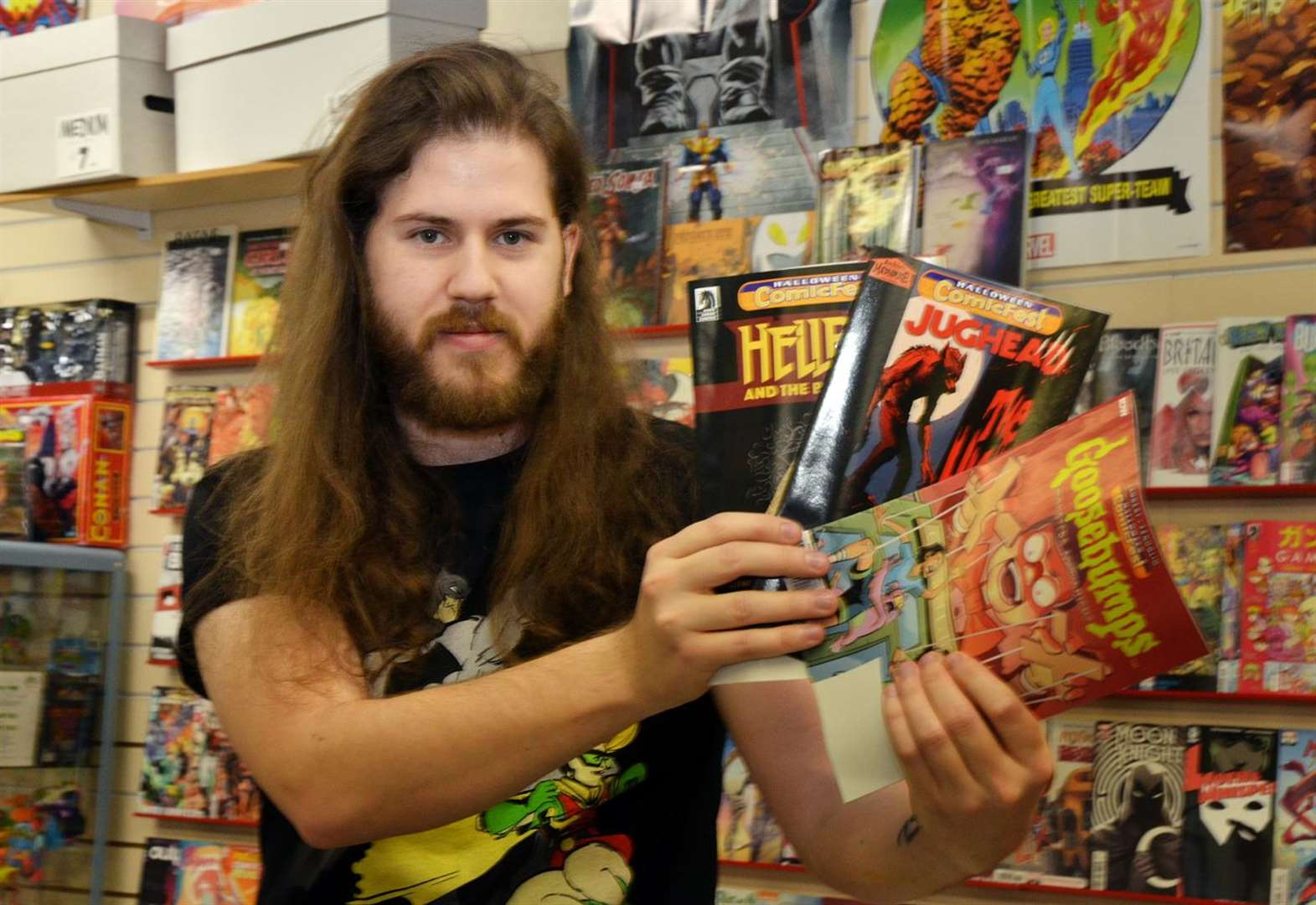 Comic books, superheroes and more at Halloween ComicFest