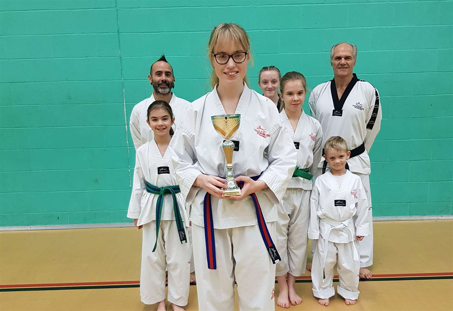 MARTIAL ARTS: Taekwondo triumph for top Tabitha