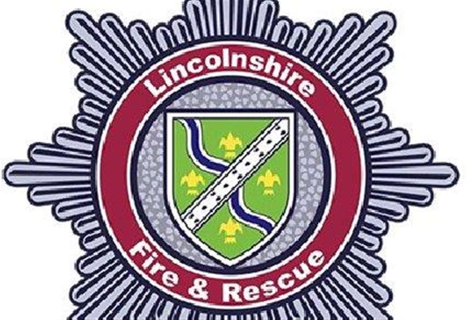 Garden rubbish fire in West Pinchbeck
