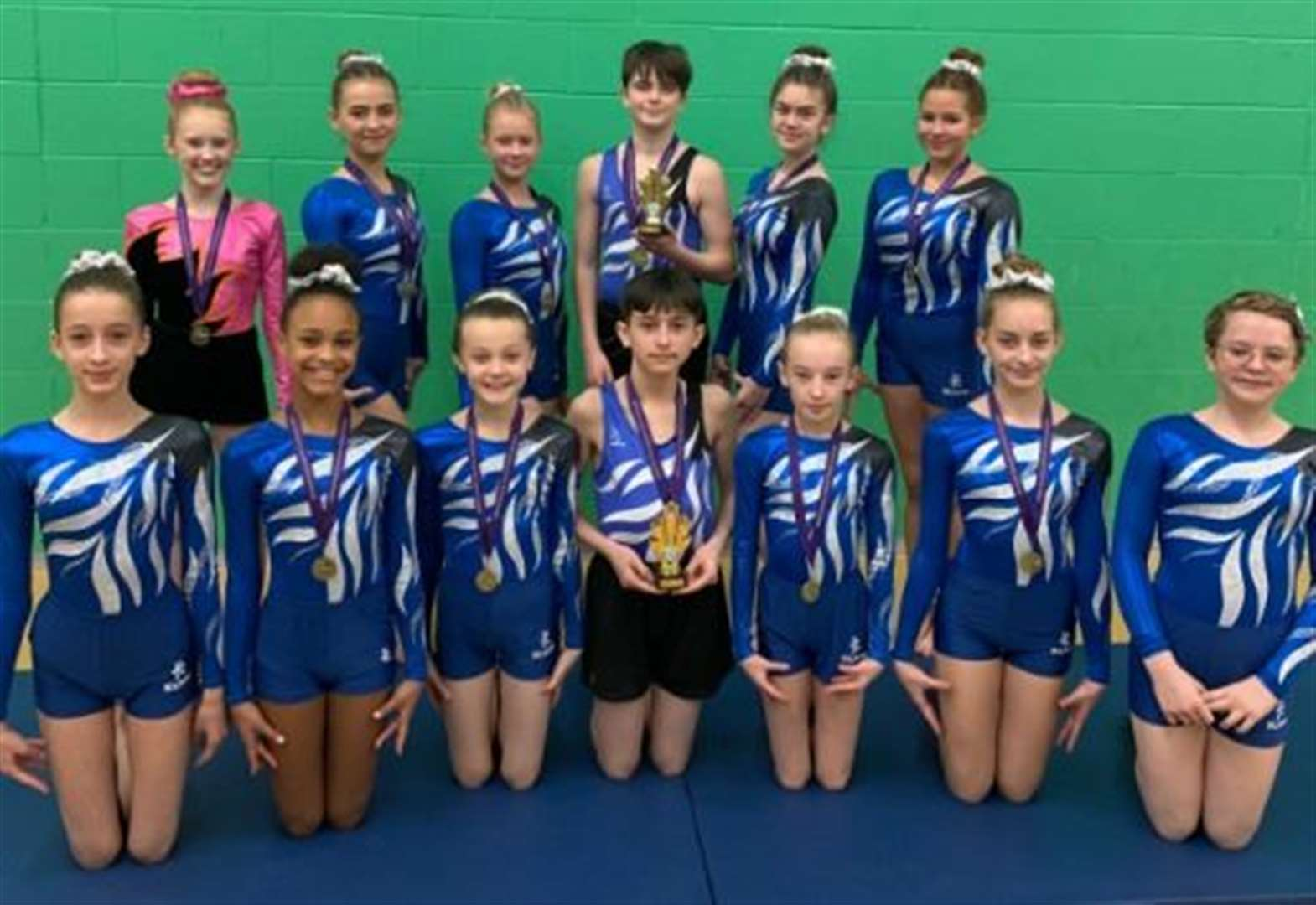 GYMNASTICS: Academy aces on top form