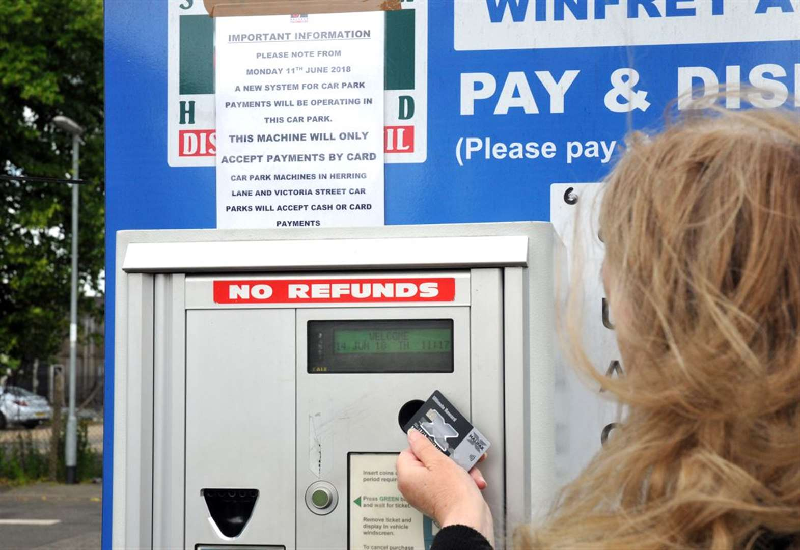 Council is going to look again at car parking charges