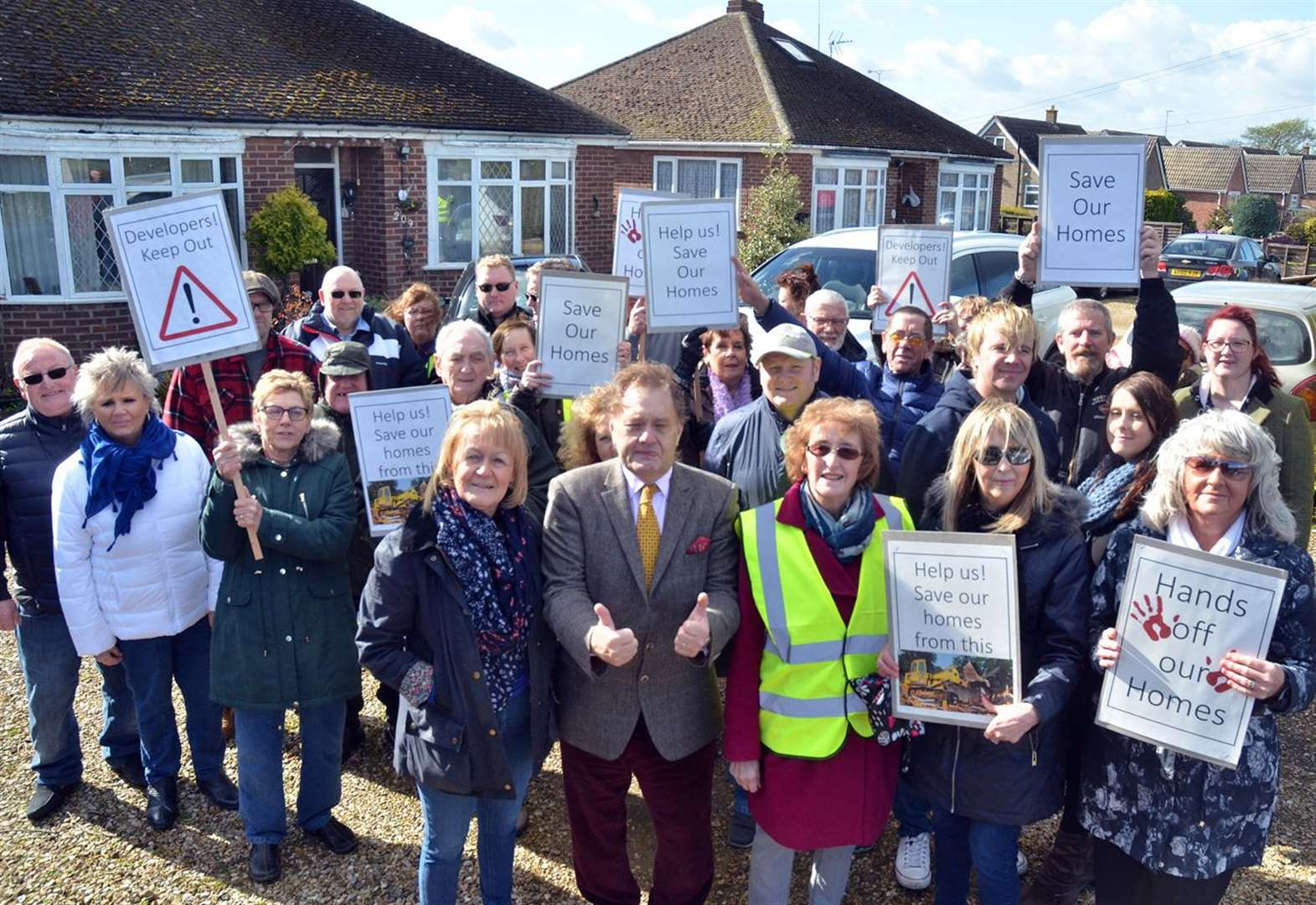 Spalding residents: We'll fight to save homes