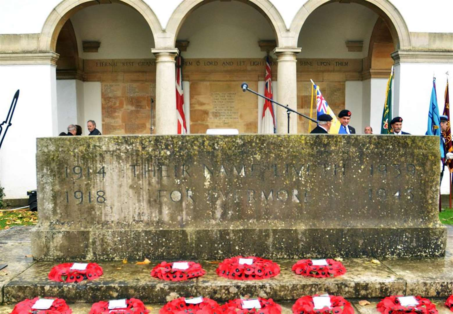 PICTURE GALLERY AND VIDEO: Record crowds remember Spalding's fallen on 'special' Remembrance Day