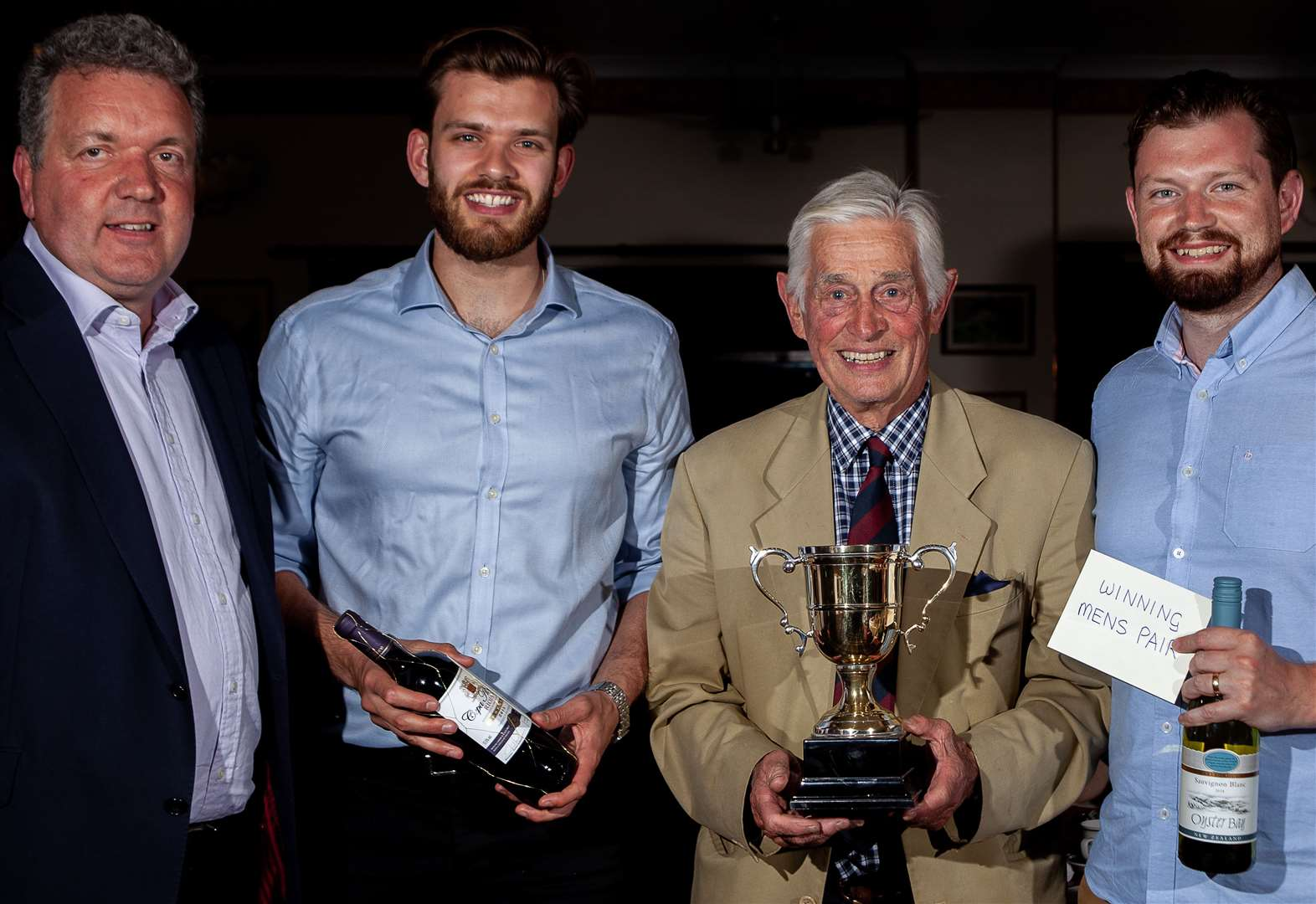 Record entry earns £1,500 at Spalding Rugby Club's golf day