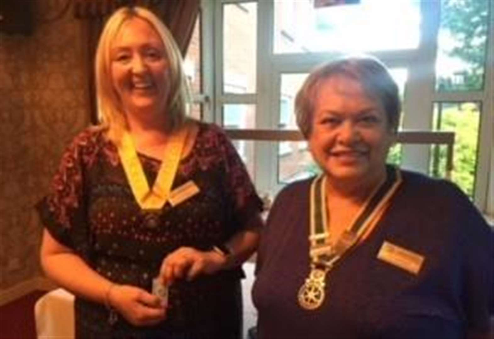 Handover evening for Spalding and Welland Rotary