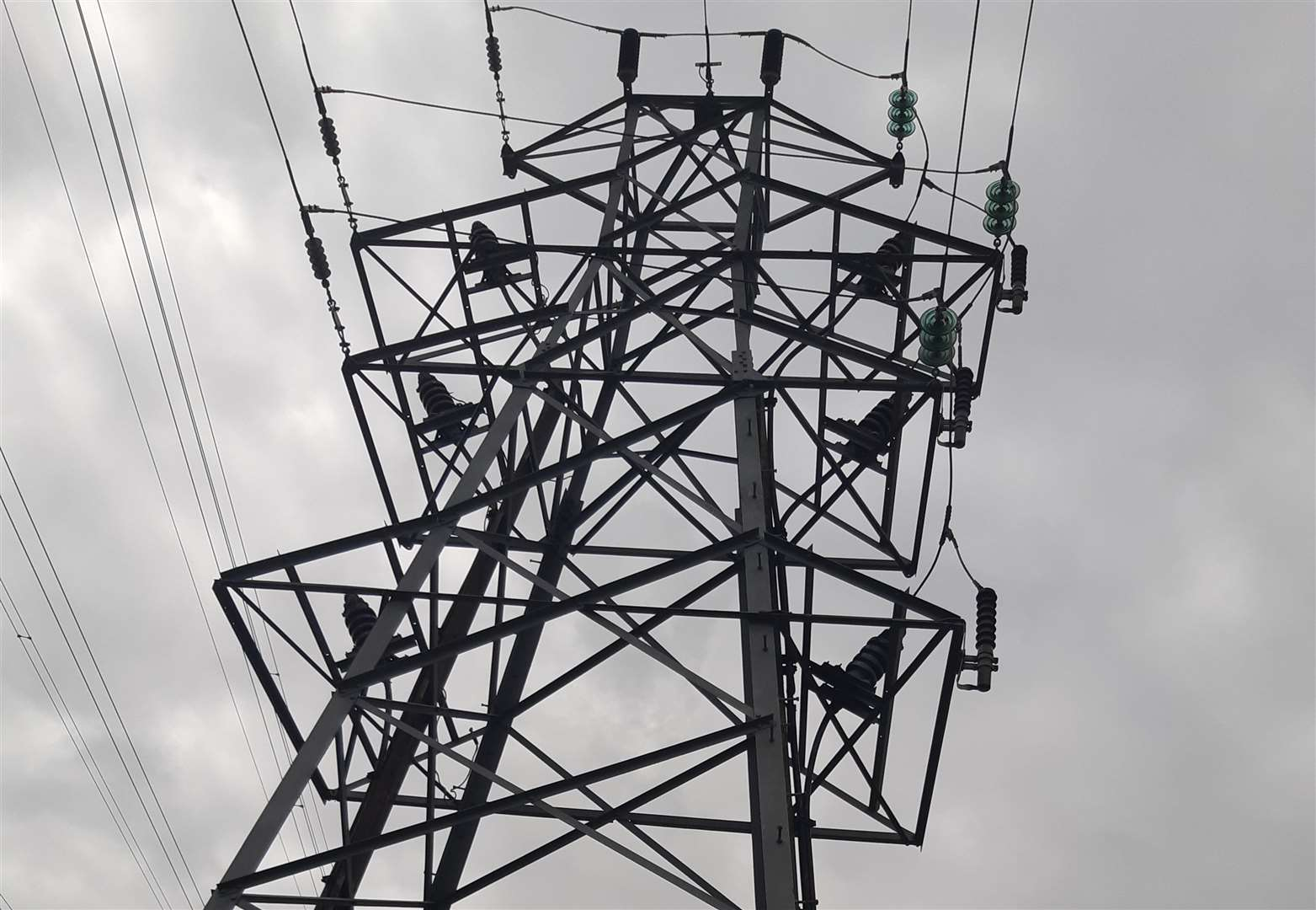Repairs go on after power cut in town