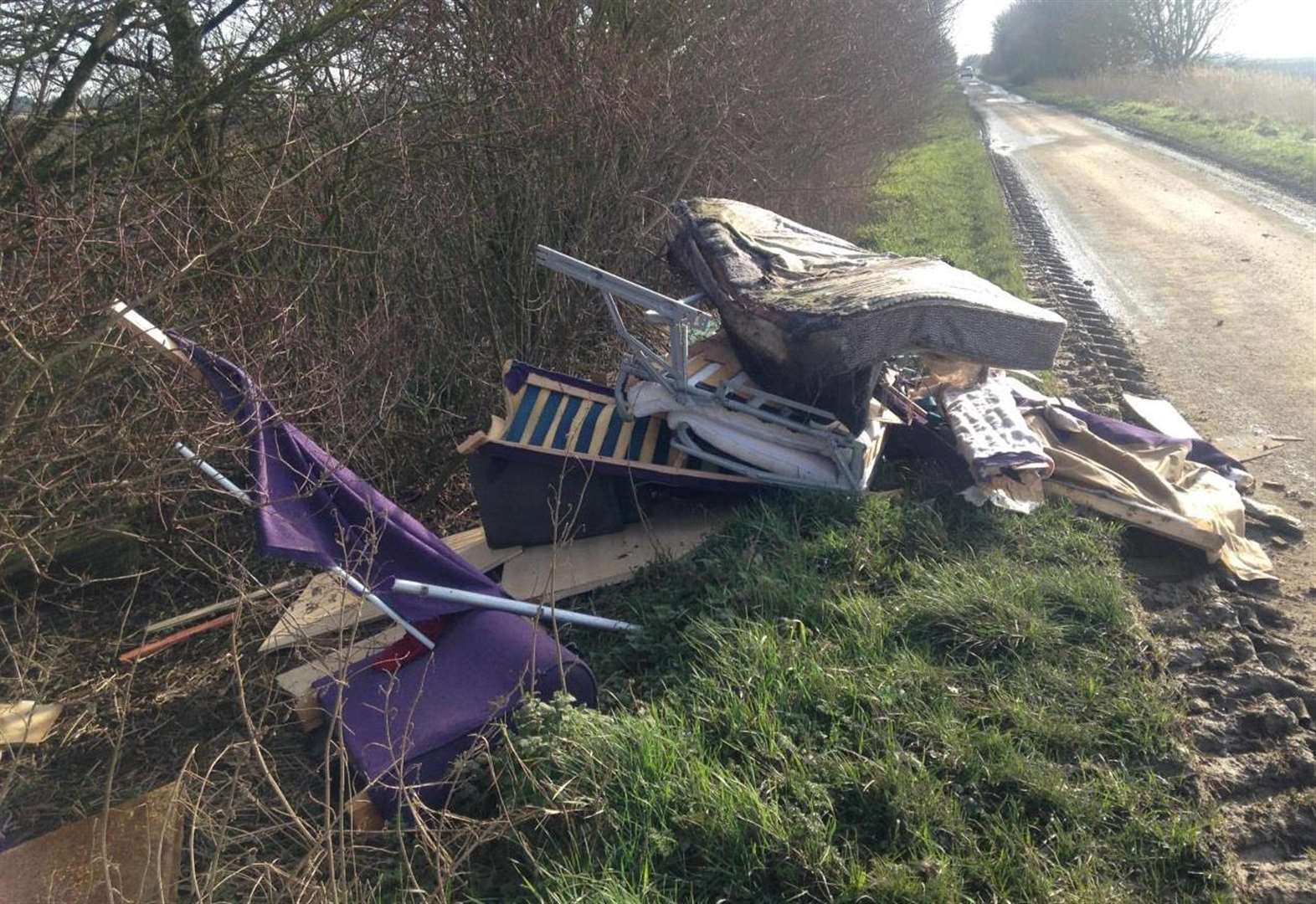 Two fined a total of more than £2,300 after fly-tipping waste