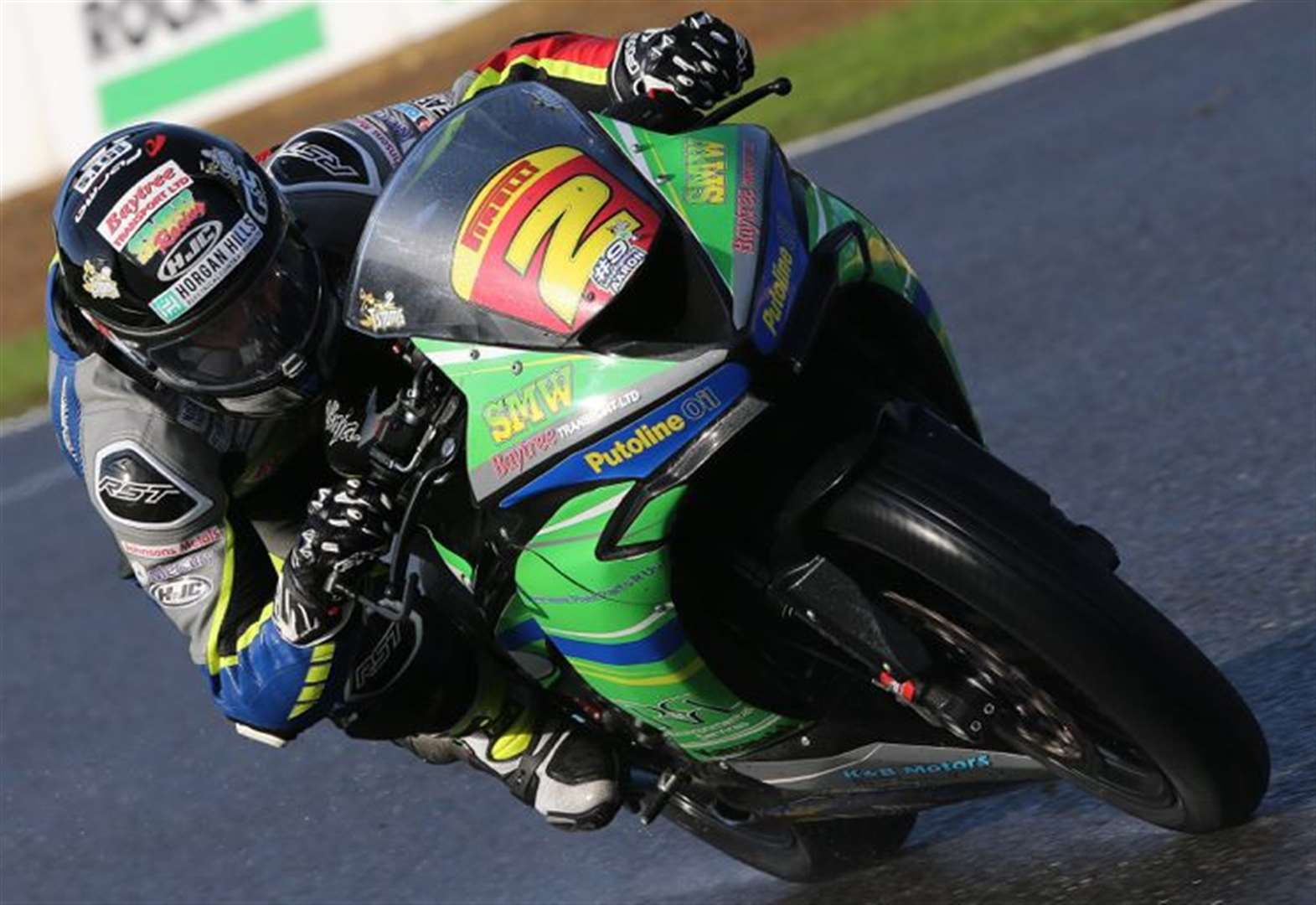 MOTORCYCLING: Top-five finish for Superstock team-mates