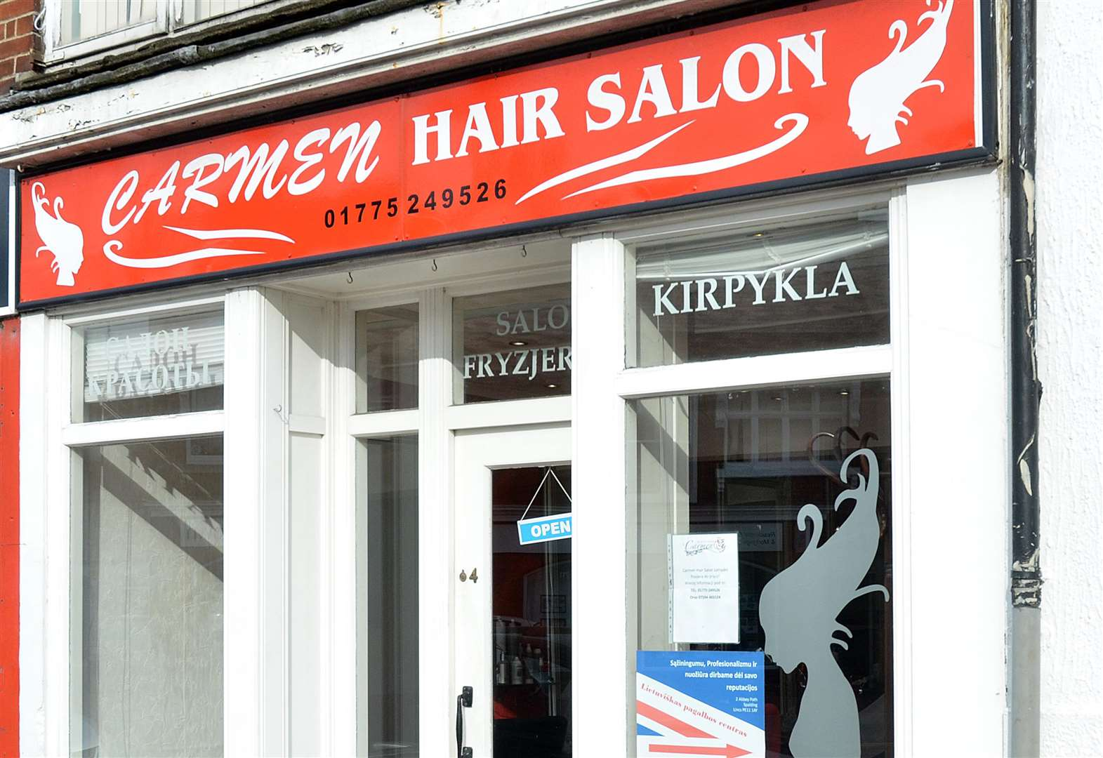 Spalding business owners 'feel alone' after hair salon burglary