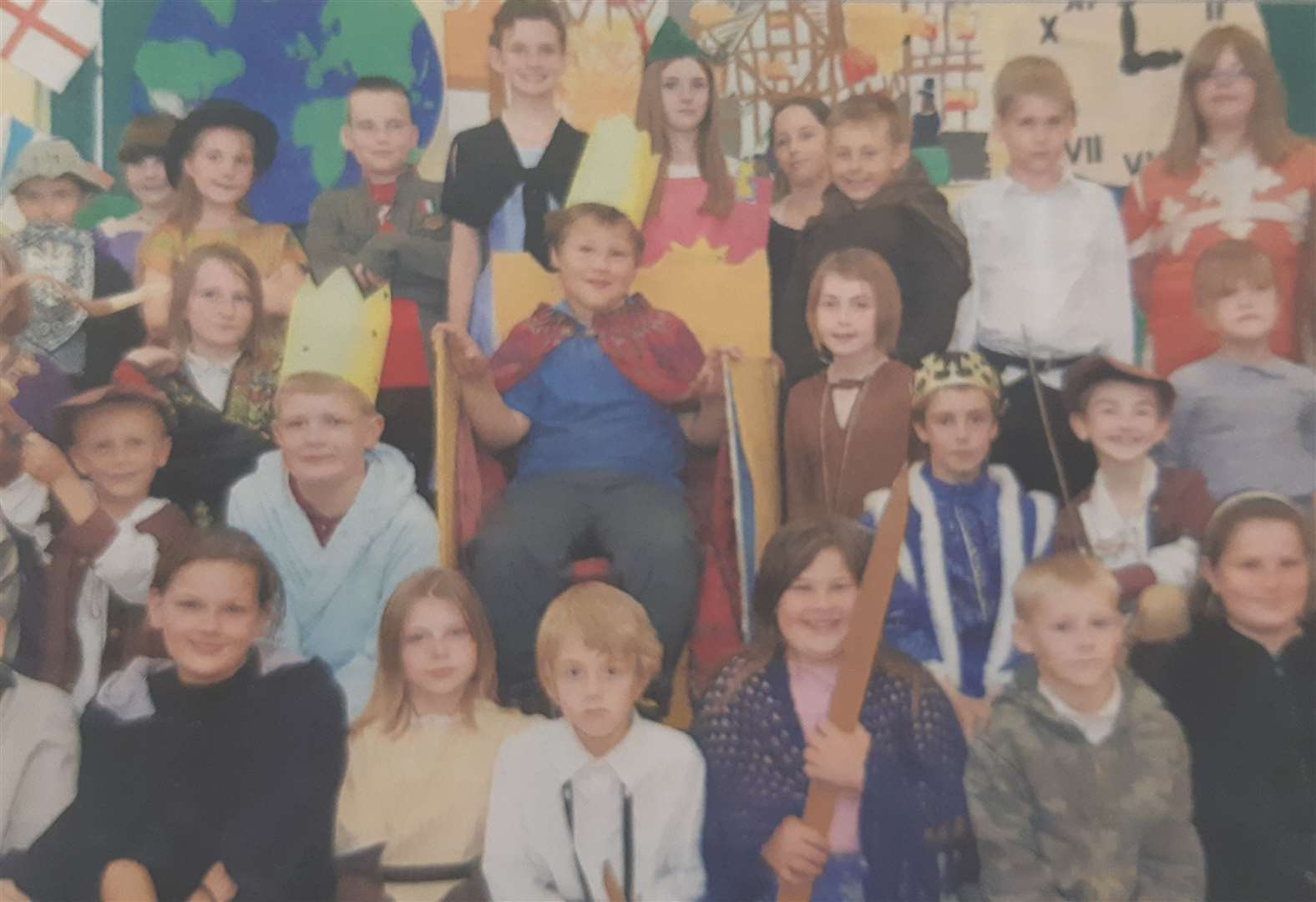 School's play ten years ago about 1,000 years of history