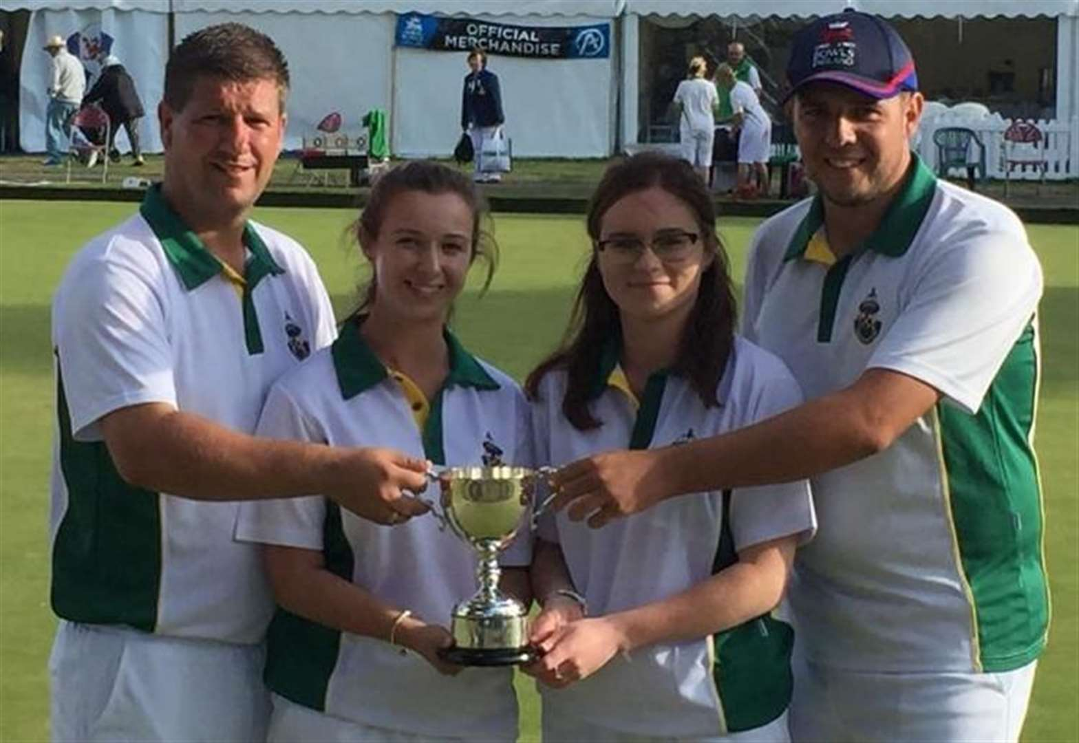 BOWLS: Royal Mail Cart's quartet are national runners-up