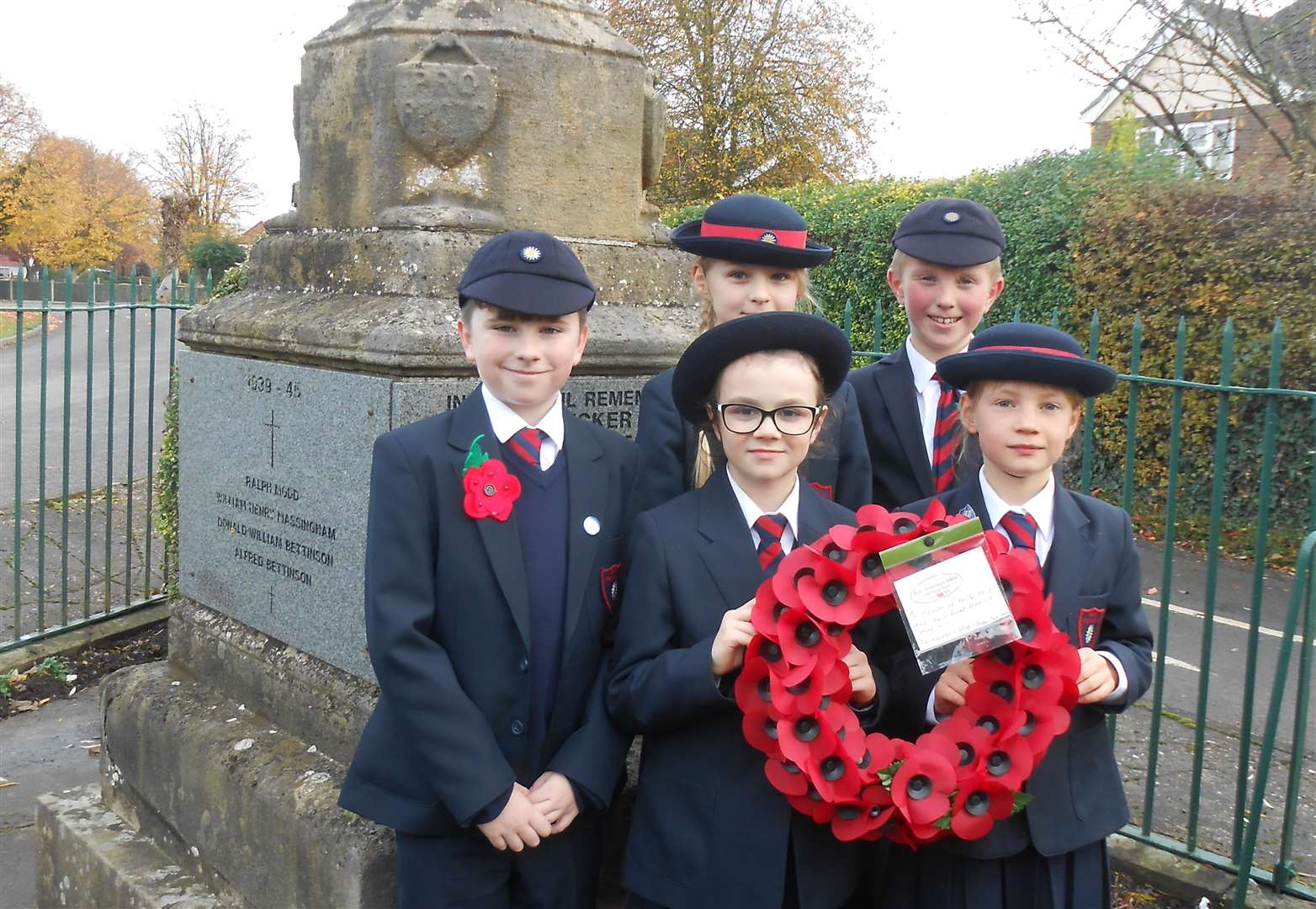 Remembrance activities in Bicker