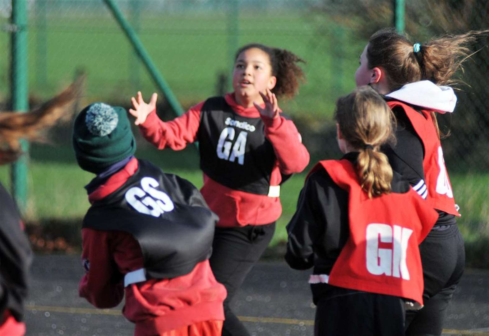 Ayscoughfee Hall win primary schools netball tournament