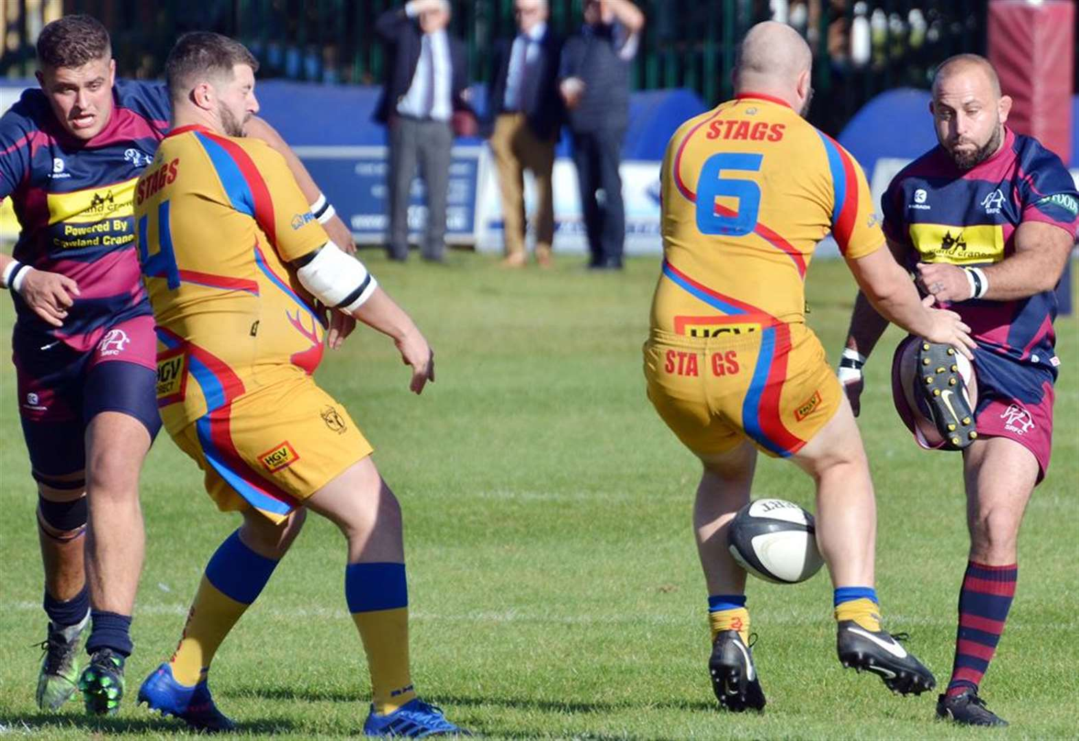 RUGBY UNION: Another away defeat for Spalding