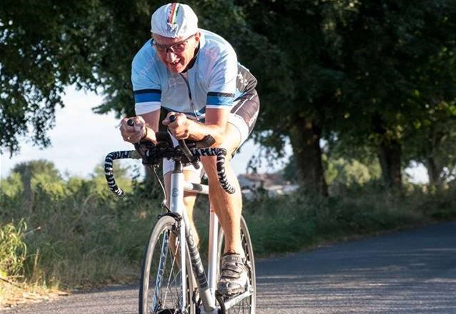 CYCLING: Palmer claims another record