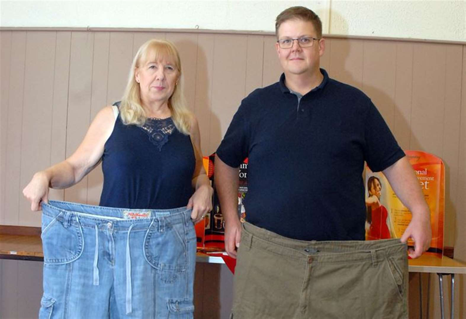 Weight loss couple turn slimming classes into 'date night'