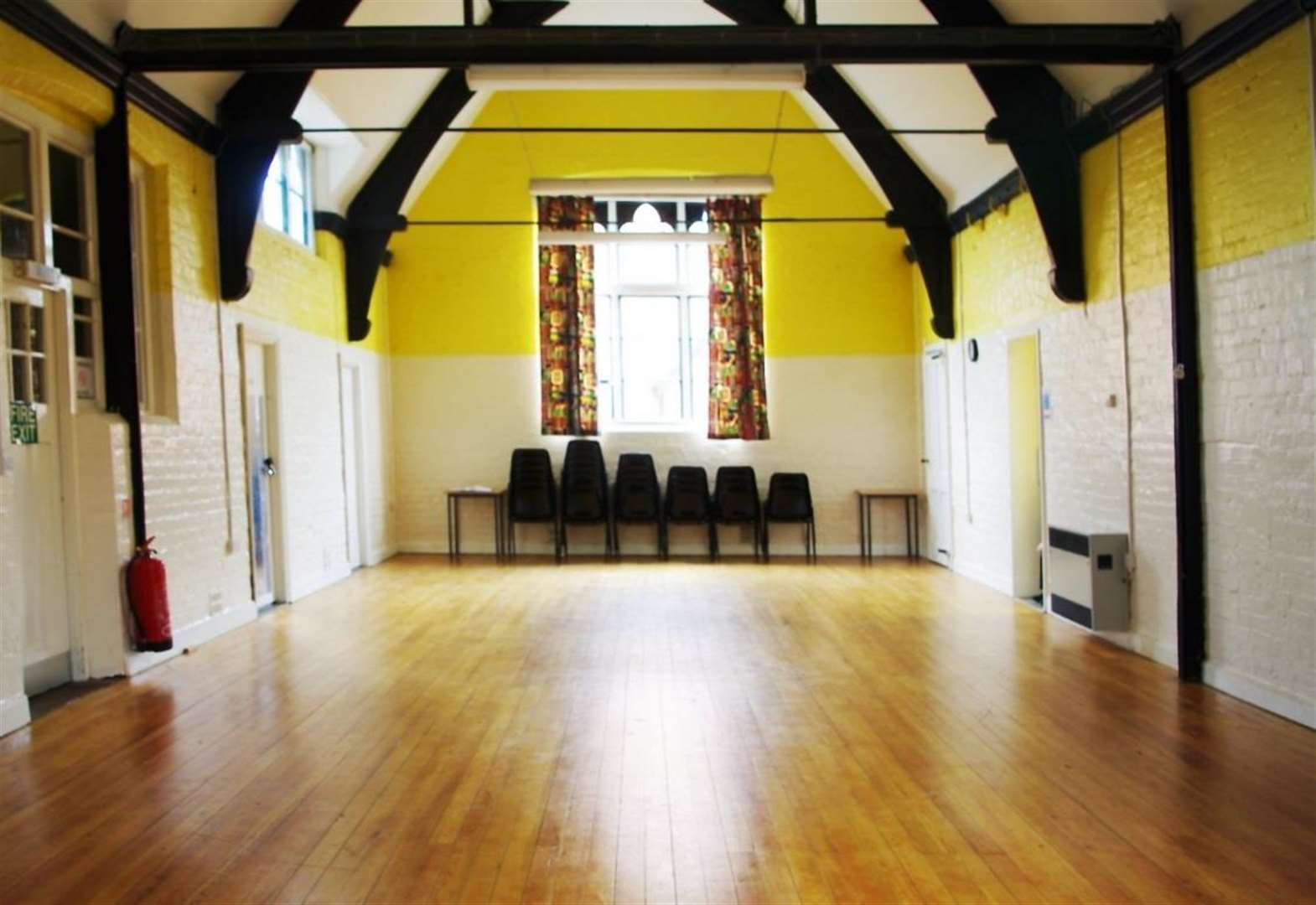 HELPING HANDS: Could you help out at your village hall?