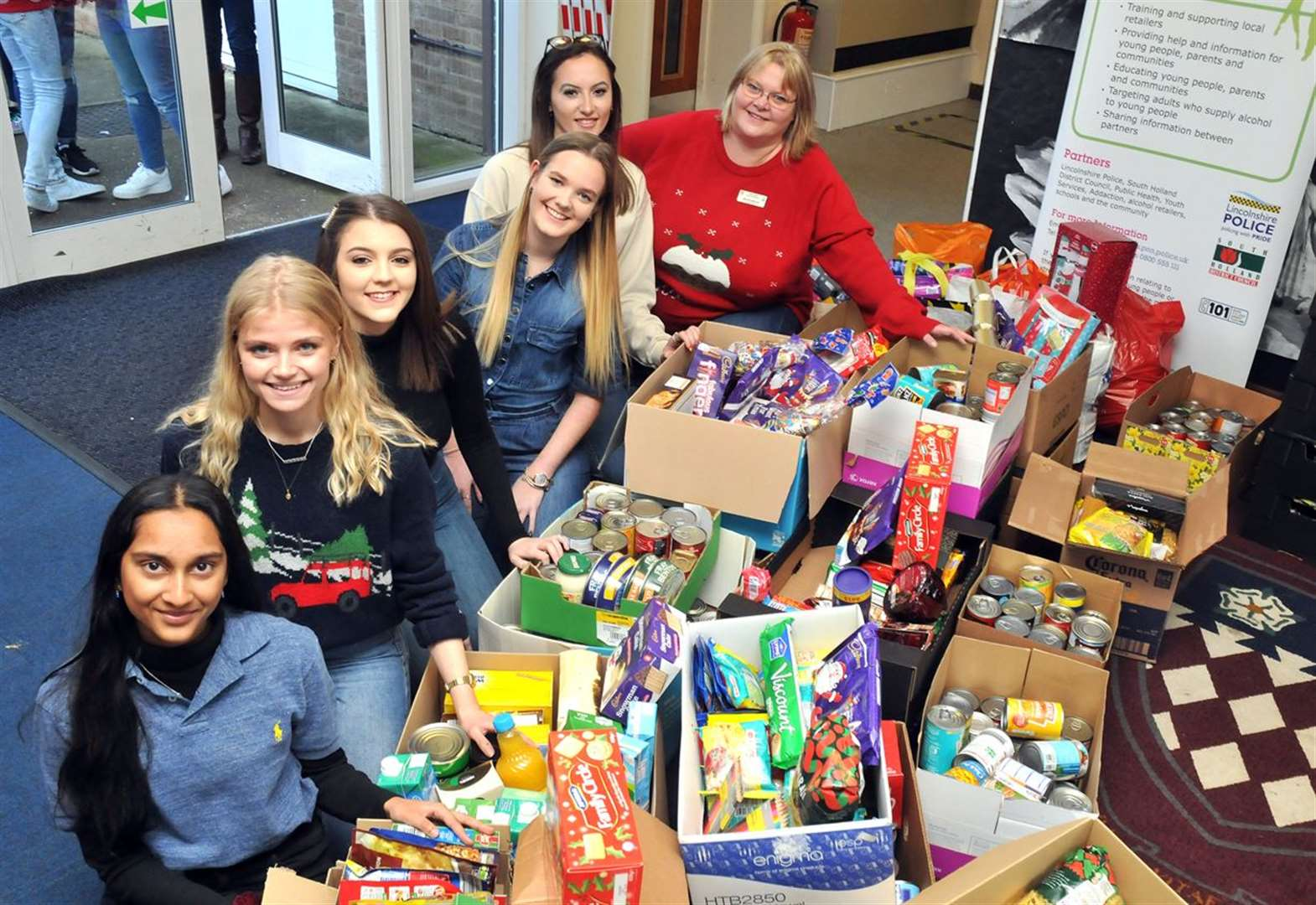 CHRISTMAS FOODBANK APPEAL 2019: School shows its heart to help needy