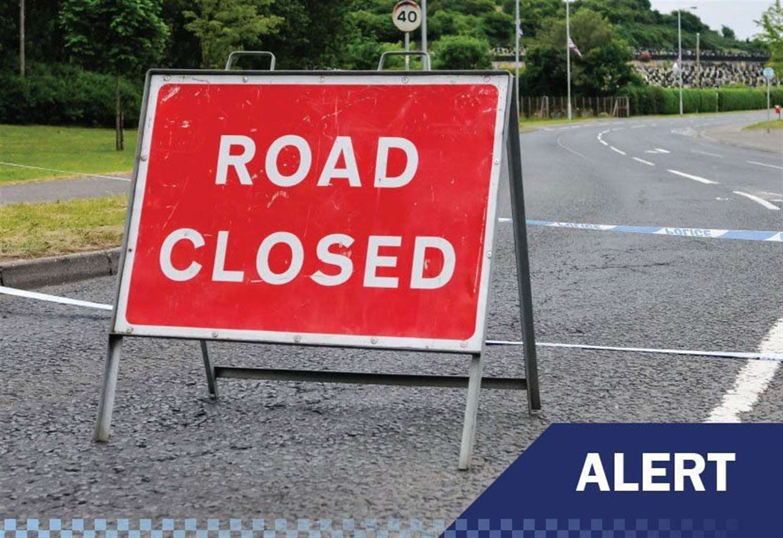 Road open again after accident