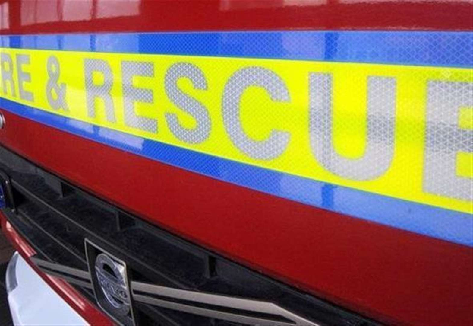 Two-car accident in West Pinchbeck