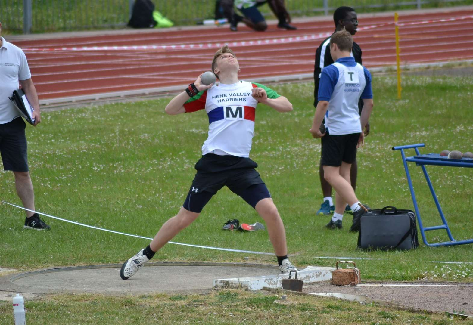 ATHLETICS: Wins in shot and discus for Donovan Capes